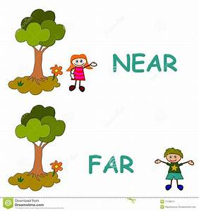 List of Synonyms and Antonyms of the Word: Far And Near