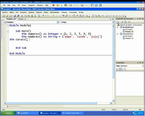 Arrays, Arreglos, Vectores, Matrices, Aprender A Programar En Visual Basic Express Edition Parte
