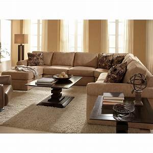 Broyhill veronica upholstered laf chaise sectional sofa in for Broyhill sectional sofa with chaise