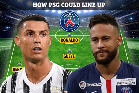 How PSG could line up with Cristiano Ronaldo, Neymar and ...