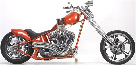 Covingtons Orngspringer1 Custom Motorcycle