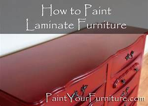 how to paint laminate furniture paintyourfurniturecom With best brand of paint for kitchen cabinets with northern lights canvas wall art