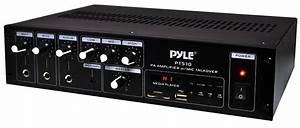 Amazon Com  Home Audio Power Amplifier Mixer
