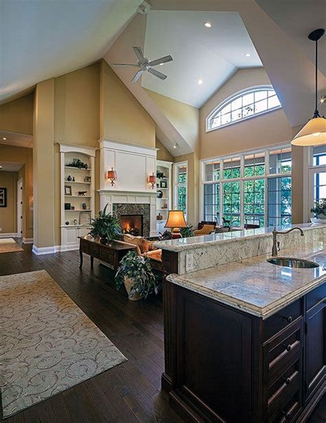 house plans with vaulted great room vaulted great room in the cedar court plan 5004 http www dongardner com plan details aspx pid