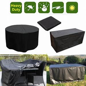 Waterproof 4 6 8 10 seater furniture set cover table chair for Garden furniture covers australia