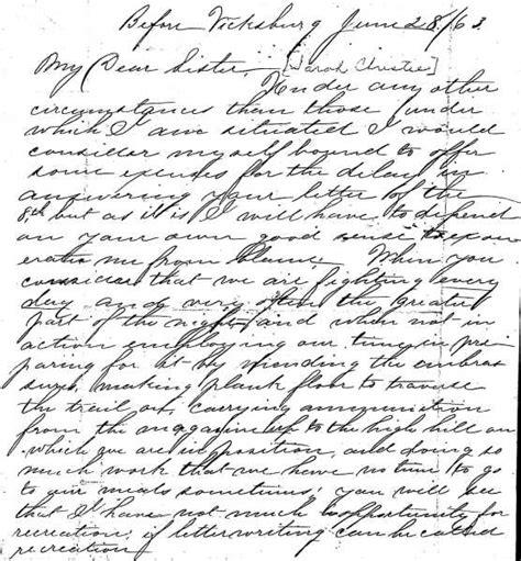 letters from the civil war civil war letters d christie june 28 1863 12312