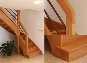 Escalier 3 4 Tournant : escalier 2 4 tournant sans contremarches mb escaliers ~ Dailycaller-alerts.com Idées de Décoration