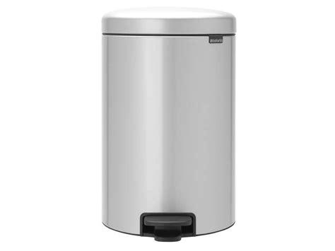 conforama poubelle cuisine poubelle cuisine 20 l gris icon chez conforama