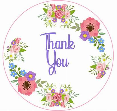 Thank Icing Topper Edible Cake Toppers Cupcake