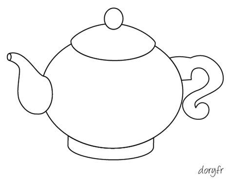 ustensile de cuisine en m en 6 lettres dessin à imprimer une théière dory fr coloriages