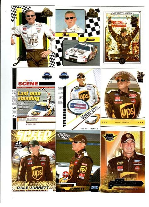 To enter the sweepstakes you must have an access code, which can be found in select panini 2021 officially licensed nascar® trading card products beginning on 2/1/21 (while supplies last). Dale Jarrett Lot of 9 Different NASCAR Trading Cards D   eBay