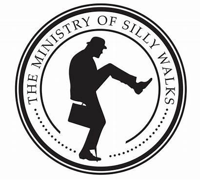 Silly Walks Ministry Monty Python Redbubble Pinu