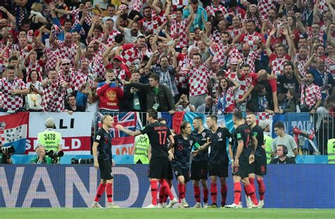Mandzukic Breaks England Hearts Fires Croatia Into