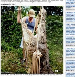 l incroyable vie d un chasseur de crocodiles lameuse be