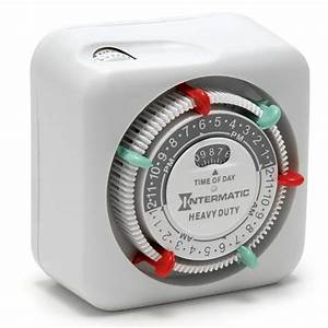 Intermatic heavy duty mechanical timer landscape