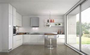 53 variantes pour les cuisines blanches With kitchen colors with white cabinets with porte papiers femme