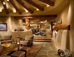 Amazing Adobe Style Living Area  Love It All