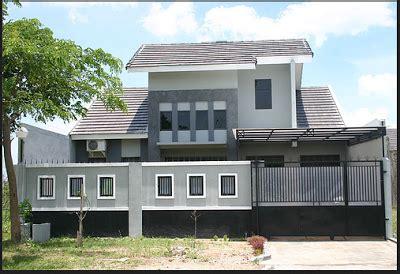 contoh desain pagar tembok depan rumah terbaru rumah