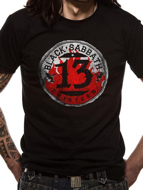black sabbath 13 logo t shirt tm shop