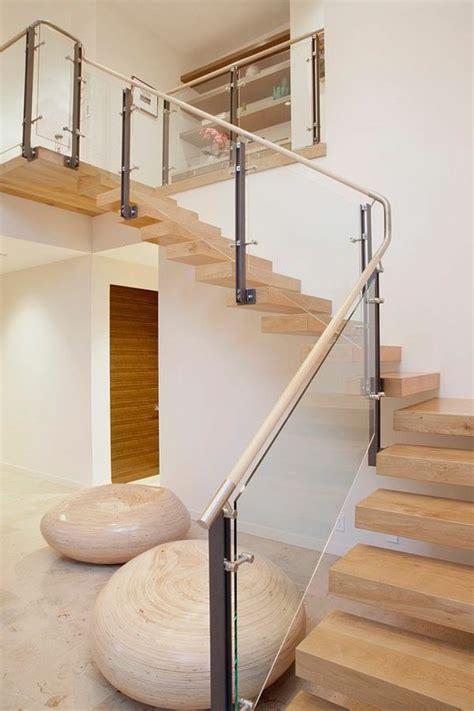 escalier bois et verre les 25 meilleures id 233 es de la cat 233 gorie garde corps verre sur escalier en verre