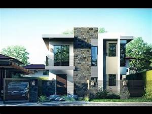Elegant two story modern house design architecture and for Elegant design a house for kids