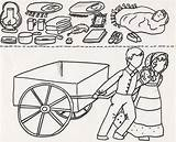 Pioneer Clipart Handcart Coloring Children Lds Clip Primary Happy Activities Printables Cart Singing July Pioneers Trek Supplies Early Cliparts Clipground sketch template