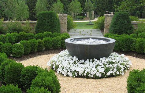 landscaping fountains landscape design portfolio sisson landscapes