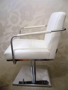 Fauteuil Pivotant Design : fauteuil design pied pivotant cuir et chrome jerge lot de 2 fauteuils ~ Teatrodelosmanantiales.com Idées de Décoration
