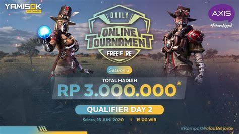 Free fire की लोकप्रियता लगातार बढ़ रही है। free fire gaming masters के टूर्नामेंट में रजिस्ट्रेशन कैसे करें? LIVE Axis Daily Tournament free fire #3 Qualifier Day 2 ...