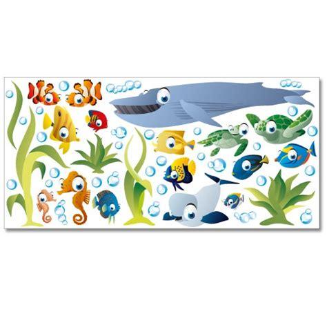 Xl Wandtattoo Kinderzimmer by Wandsticker Set Xl Unterwasserwelt