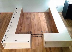 Ikea Hacks Podest : our new bed frame an ikea hack super easy diy tutorials from my blog pinterest ikea ~ Watch28wear.com Haus und Dekorationen