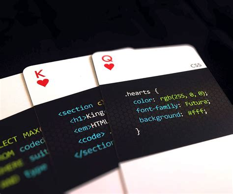 programming deck  cards  images playing cards
