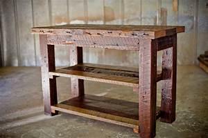 Reclaimed Wood Farm Table and Vanity Reclaimed Wood