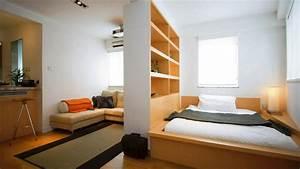 studio apartment bedroom interior design ideas with wood With interior design ideas for 2 bedroom apartments