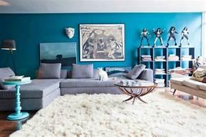 Die wunderschöne und effektvolle Wandfarbe Petrol! Archzine net