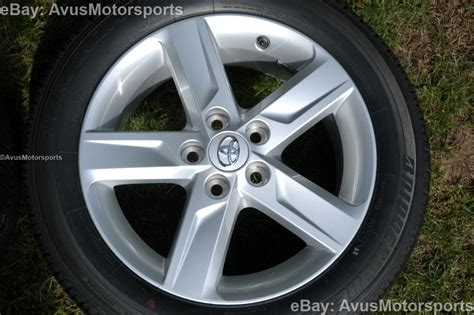 new 2013 toyota camry oem 17 quot factory wheels tires solara