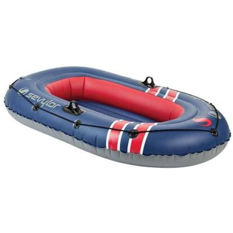 Inflatable Boats Home Depot by Sevylor Super Caravelle 2 Person Inflatable Boat Includes