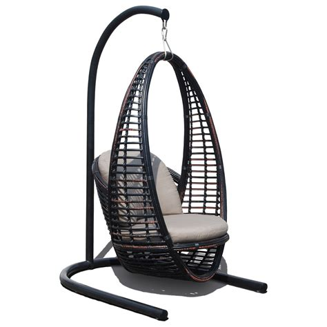skyline design heri outdoor hanging chair  cushion