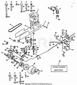 Poulan Pp1238a Tractor Parts Diagram For Drive