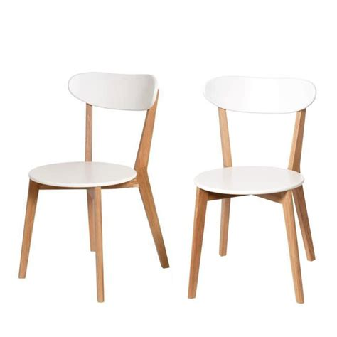 Chaises Design Scandinave Vitak Par Drawer