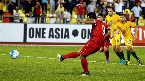 syria   australia   happened goals match report