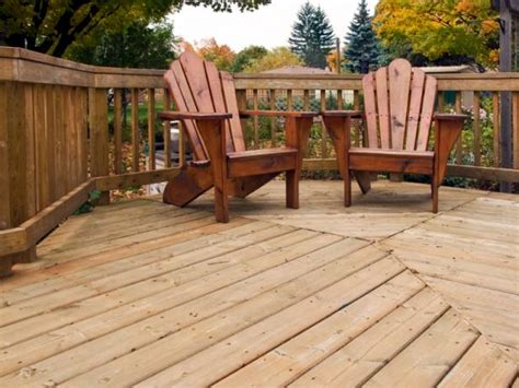 wood decking materials hgtv