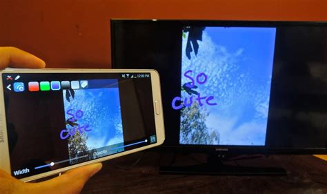 cast phone to tv how to send just about anything from your phone to your tv