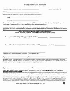 Child Support Agreement Best Photos Of Notarized Letter Format For Child Support