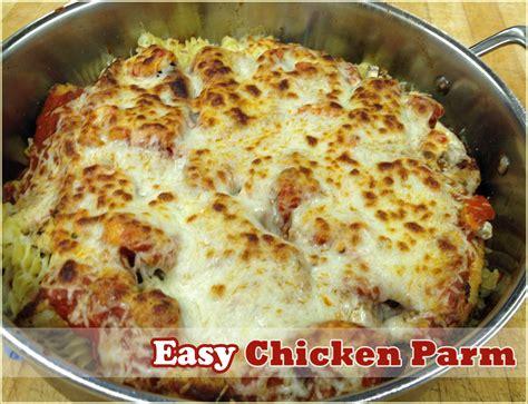 best easy chicken recipes easy chicken parmesan recipe dishmaps