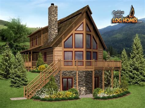 a frame cabin kits a frame home kits a frame log cabin home plans hybrid
