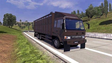 Mitsubishi Logistics America by Mitsubishi Fuso Logistics Sapi Ets2 Mods