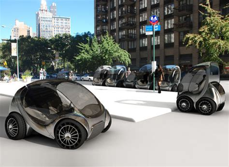Future Transportation  Citycar  Compact Urban Car By