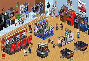 Retro Arcade Wallpaper WallpaperSafari