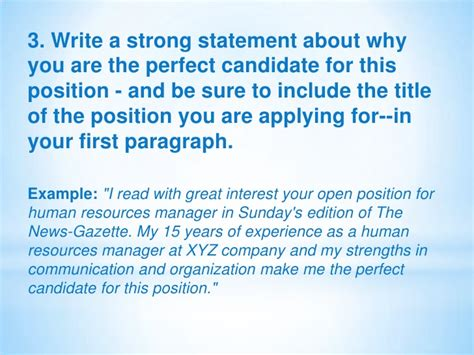 Why Are You The Best Candidate For The by A Letter Of Application By Mazenceva 1071 1